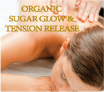 organic sugar glow tension release