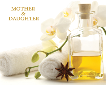mother and daughter spa package