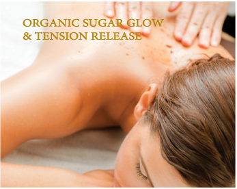 organic sugar glow and tension release